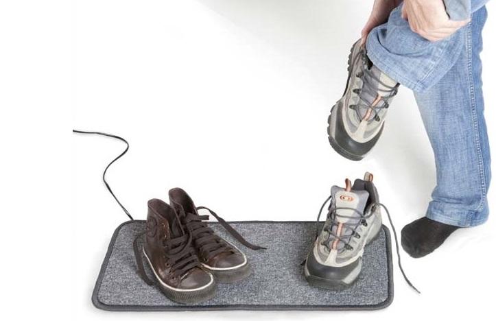 Warme voeten matten